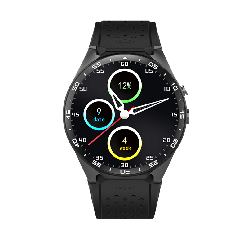 KW88 android 5.1 OS quad core sports smartwatch phone with heart rate monitor, 3g wifi dz09 smart watch with HD camera