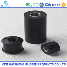 Custom auto black car silicone rubber pipe sleeves