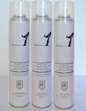 Factory price quick drying wholesale fashion men's hairspray