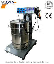 Fluidized bed powder coating equipment