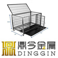 Container house tube dog cage