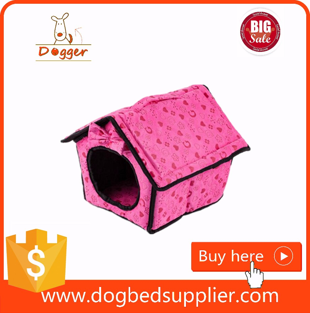 Wholesale Plush Dog Cave Bed Popular Pet Product stuffed pet cave for Export