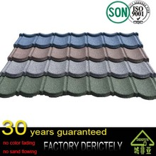chengfeiya Color Stone Coated Roofing Shingles/Aluminum Zinc Steel Roof Tiles/ sand coated metal roofing sheets