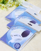 Travel Pack Disposable Toilet Seat Cover 10covers/TSC travel pack