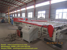 updated design simple automatic PVC laminated gypsum ceiling board production line