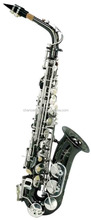 Wind instrument metal finishing alto saxophone for teaching ABC1102BN
