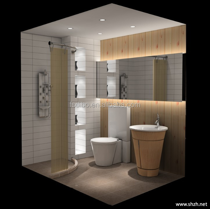 DIBO Shower Cabin Modern Modular Prefab Bathroom Pod modular bathroom
