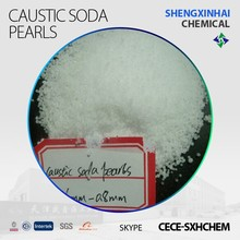 Raw Materials of Cleaning Products Caustic Soda Pearls99%
