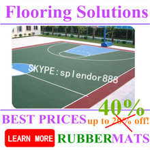Professional Cheap PP Interlocking Sports Flooring for Basketball Court