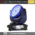 36x4in1 10W zoom led wash moving stage light effect disco party