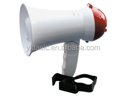 5 watts small size RMS battery Powered handy megaphone