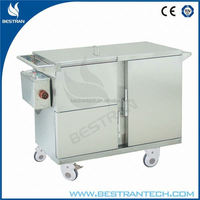 BT-SFT003 CE/ISO hospital service trolley food warmer truck manufacturer for sale