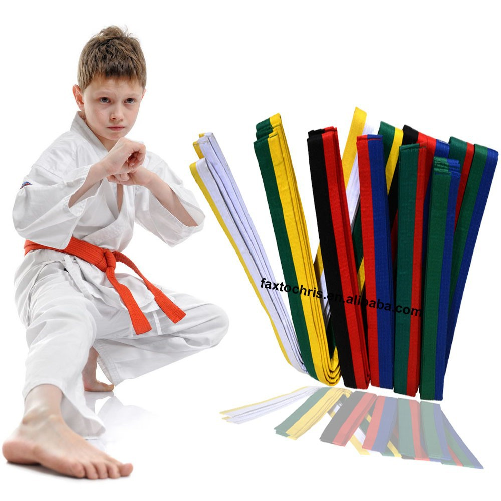 Custom martial arts karate belts taekwondo belts