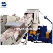 Pellet making machine waste plastic double stage pelletizing line