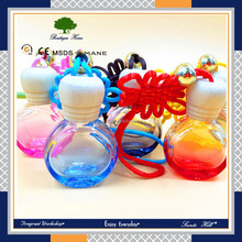 cheap custom printing Different fragrance luxury crystal purfume Glass Bottle Air Freshener For Car