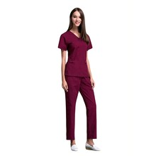 Scrubs tops new fashion hospital uniform for doctor