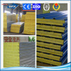 composite cold storage wall EPS rock wool, fiber glass, PU sandwich panel