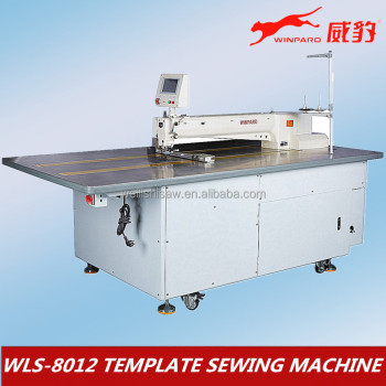 Template Industrial Sewing Machine WB-8012