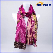 HZW-13608002 latest long wholesale soft fashion muslim fashion lace scarf hijab