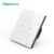 Sesoo electric Light Power Touch Wall Screen Lighting Wifi Smart Home Control Switch 2 Gang 1 Way