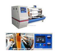 Automatic double shafts double blade cutting machine for PVC adhesive tapes