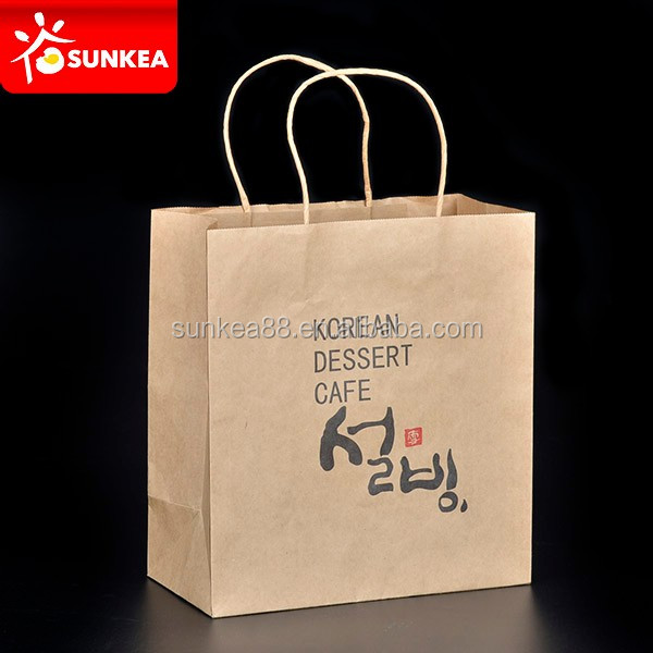 Distributors brand decoration funny paper bag