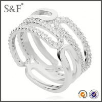 HOT SELLING!!! Newest Style Crystal finger ring knife