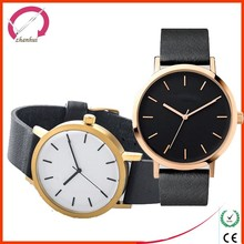 Wristwatch Alloy Case leather Strap Vogue Chronograph Watch 2016