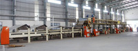Designed speed 150m/min 1800mm high speed 5-ply corrugated cardboard production line