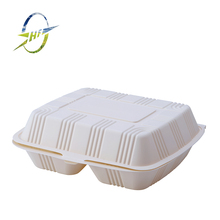 2 compartment microwave food container