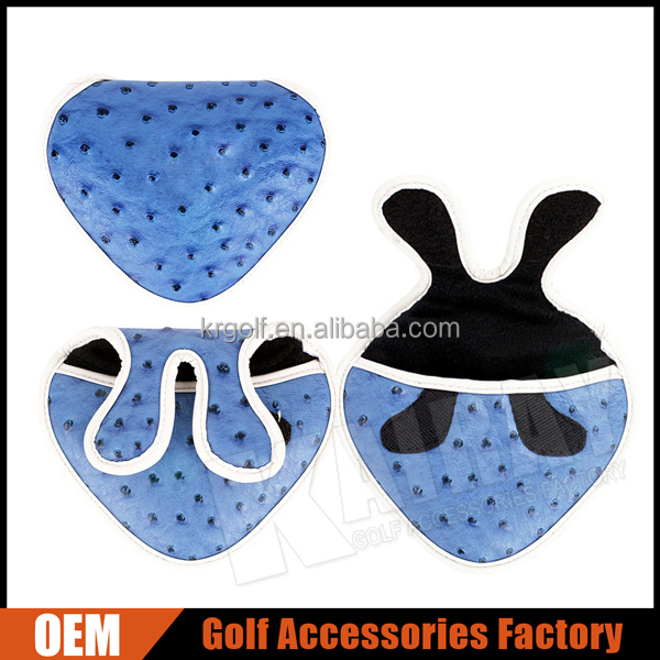 Custom Made Triangle Golf Putter Mallet Head Covers