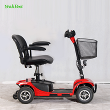 China Wholesale 24V 20Ah Folding 4 Wheels Electric Outdoor Mobility Scooter for Adult