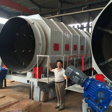 City urban construction waste garbage recycling plant for household municipal solid waste sorting