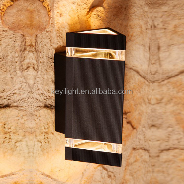 modern indoor/ outdoor IP65 led wall light up and down outdoor wall light