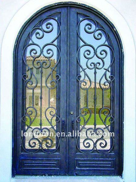 Modern stainless steel gates design