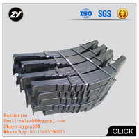 ZY high quality Trailer parts manufacture suspension leaf spring