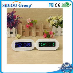 led table clock memo board alarm clock