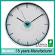 "Guangdong 12"" plastic quartz decorating ideas art wall clock 3 piece"