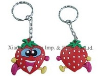 Cute and beautiful Silicone Key Chain