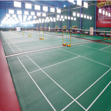 High strength pvc plastic waterproof interlock tiles portable tennis court sports flooring