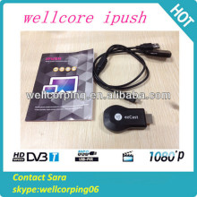 High Quality iPush Airplay WiFi Display Dongle Wireless DLAN Miracast Receiver