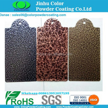 electrostatic spray Antique copper vein/sivler vein/gold vein powder coating for gate
