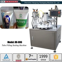 Micmachinery automatic soft tube filling sealing machine cyanoacrylate adhesive super glue filling machine