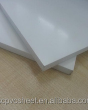 2016 hot sell high quality 1220*2440mm white pvc celuka foam board for cabinet furniture,carving