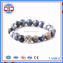 Fashion wholesale elastic bracelet lion head bracelet man truck accessories