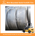 Rim-Bounded Solid Tyres Forklift Tyres 16x5-9/3.50
