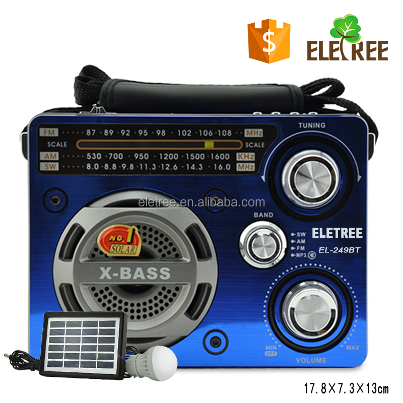 portable am radio with bluetooth