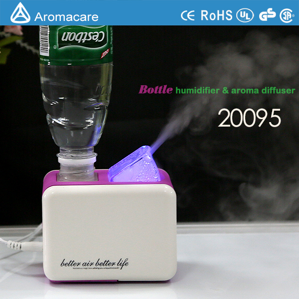 Aromacare decorative water bottle humidifier
