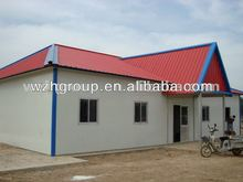 prefabricated steel living quarters / house with panel