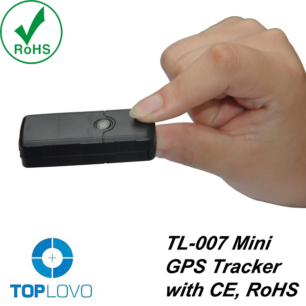 newest gps tracker ,smallest gps tracker ,TopLovo Updated TL007 GPS Factory GPS Tracker for Personal and Animals